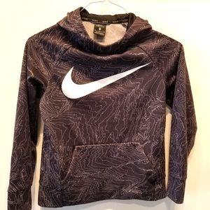 Nike Dri Fit Hooded Pullover Sweatshirt Size M